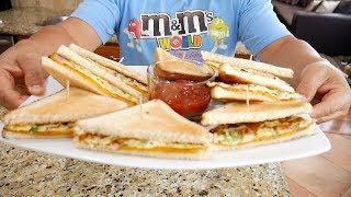 デンバーオムレツ・サンドイッチを作りました。アメリカ生活・朝食編 #140