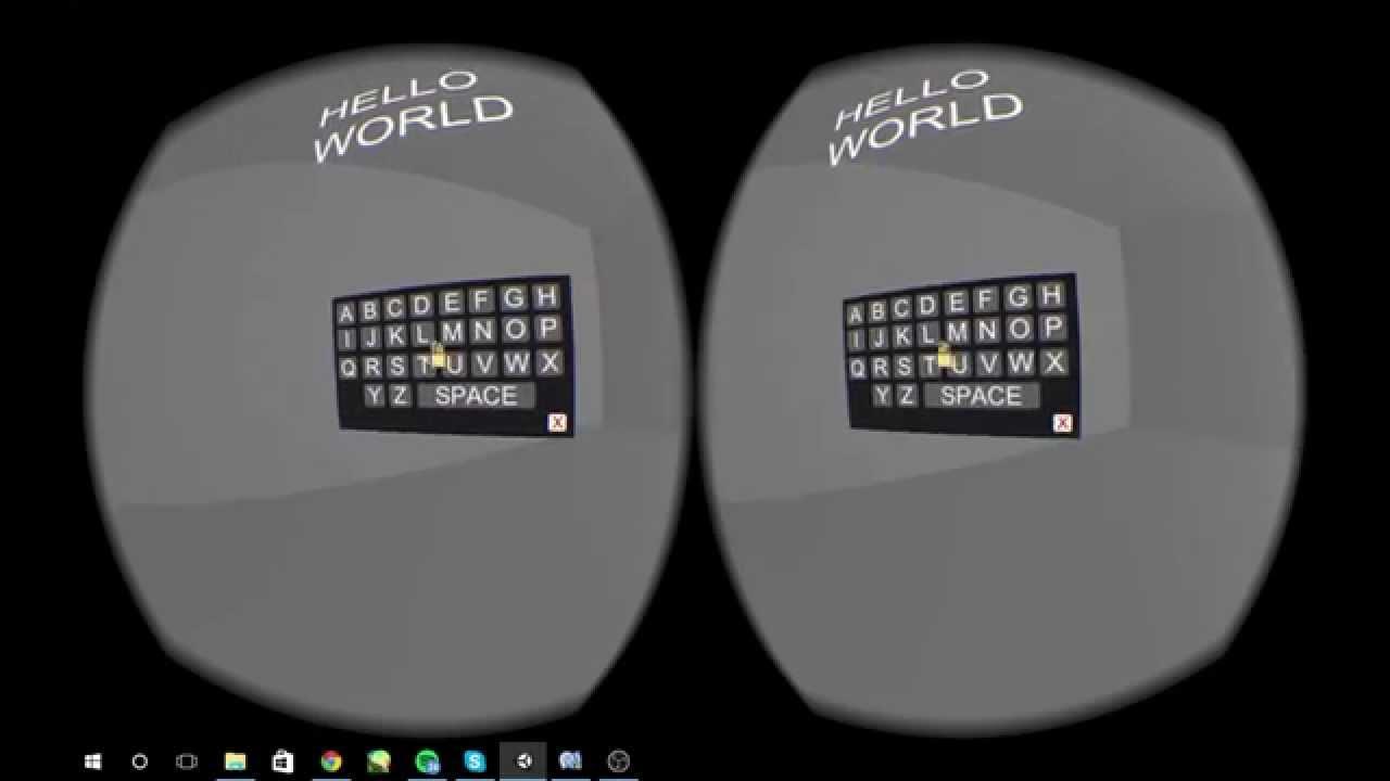 VR Experiment #2