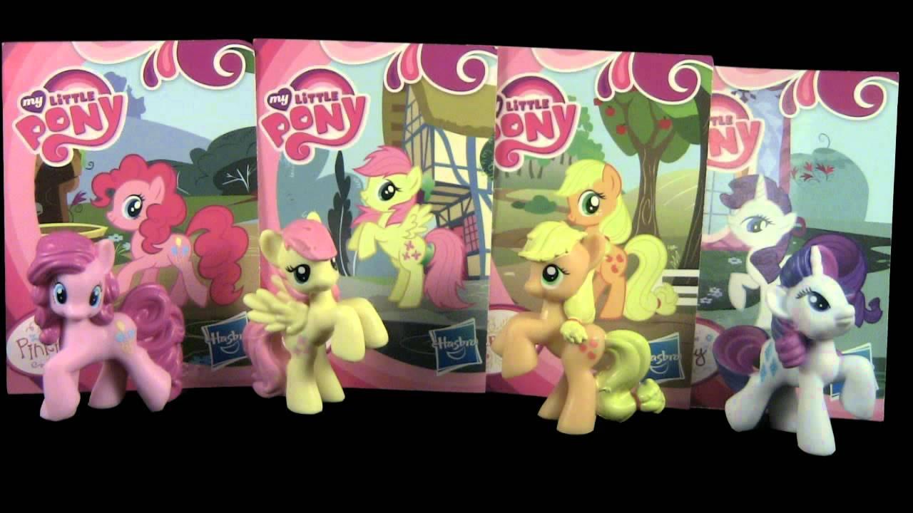 hasbro my little pony mini figures review  youtube