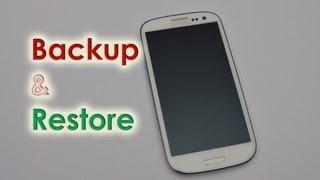 Galaxy S3 Backup/Restore