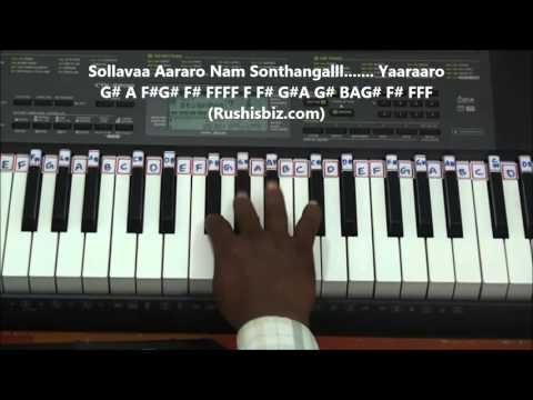 Chinna Thayaval Piano Tutorials (Thalapathi - Advance - Gamakas)