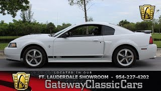 2003 Ford Mustang Mach1 Stock# 736-FTL