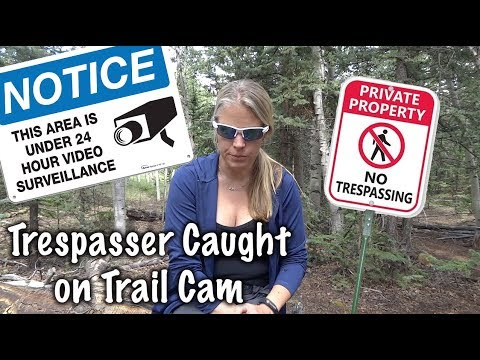 Trespasser Caught on My Trail Cam - Feeling Sad - Our Journey :: Episode #82