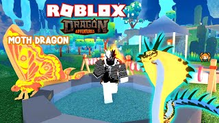 ROBLOX DRAGON ADVENTURES MOTH! Comment construire un BASE, FLY Faster, Get Resources FASTER - VENU (COBRA)