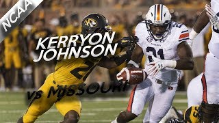 Kerryon Johnson Highlights vs Missouri // 18 Carries for 48 Yards, 5 TDs // 9.23.17