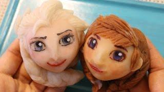 Wagashi Frozen アナと雪の女王 練り切り thumbnail