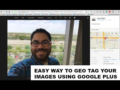 How to geotag images you upload to Google Maps using the GMB dashboard