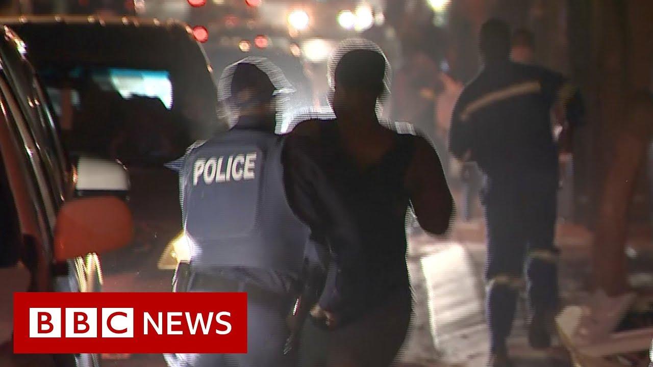 Coronavirus: South Africa's alcohol and cigarette lockdown - BBC News