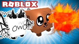 HOW YOU GET THE RAREST PETS IN ROBLOX BUBBLE GUM SIMULATOR (Owolord, Leviathan, DogCat etc.)