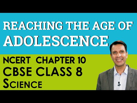 Chapter 10 Reaching The Age Of Adolescence Science CBSE NCERT Class 8