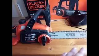 Обзор аккумуляторной пилы Black+Decker