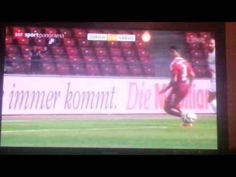 Fc Zürich-Vaduz 3-0, Kukeli Gol &Assist