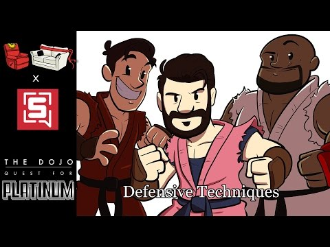 The Dojo: Quest for Platinum #9 - Defensive Techniques!