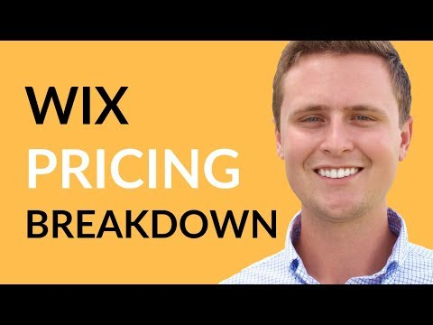 Wix Pricing - How Much Does Wix Cost?