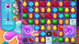 Candy Crush Soda Saga Level 1115 (buffed)