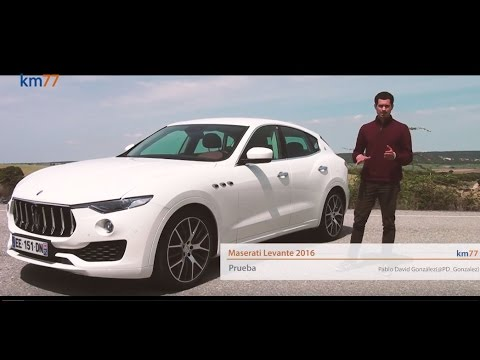 maserati levante 2016 - prueba (test) | km77 - youtube