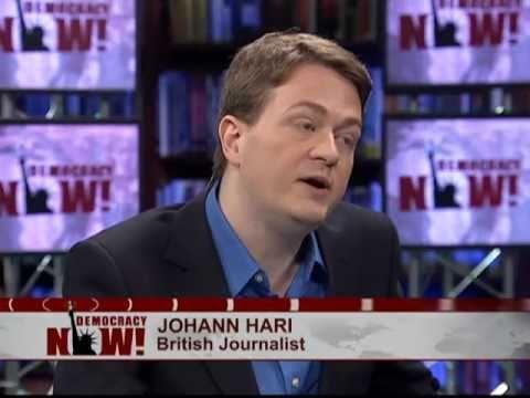 Johann Hari: The British Royal Wedding Frenzy Should Embarrass Us All (Democracy Now!) Part 1 of 2