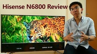 "Hisense N6800 Review: 50"" 4K HDR TV for £600!"