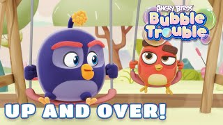 Angry Birds Bubble Trouble Ep.18   Up and over!