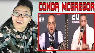 NEW Conor McGregor Funniest Moments and Trash Talk REACTION