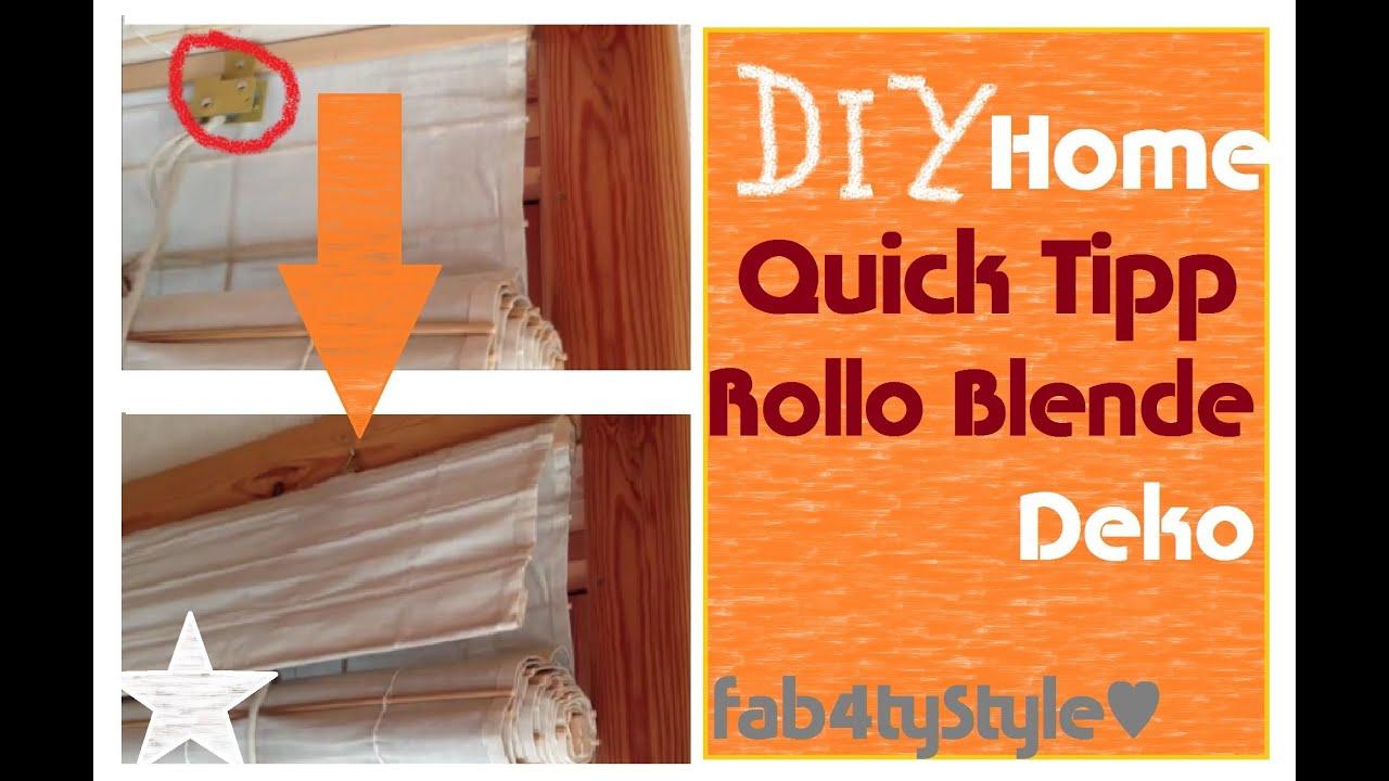 jalousie aus papierrollen selber machen, ☼ diy home quick tipp rollo/ fenster ☼ - youtube, Design ideen