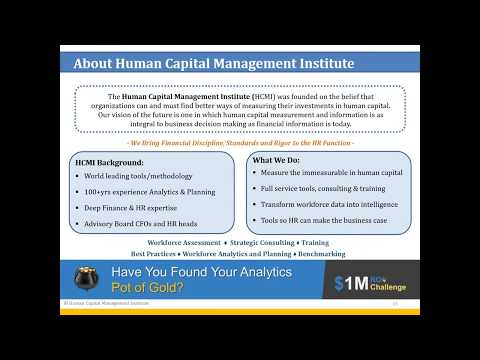 [HCMI] Human Capital Value & Disclosure: What Companies, Investors and Boards Need to Know