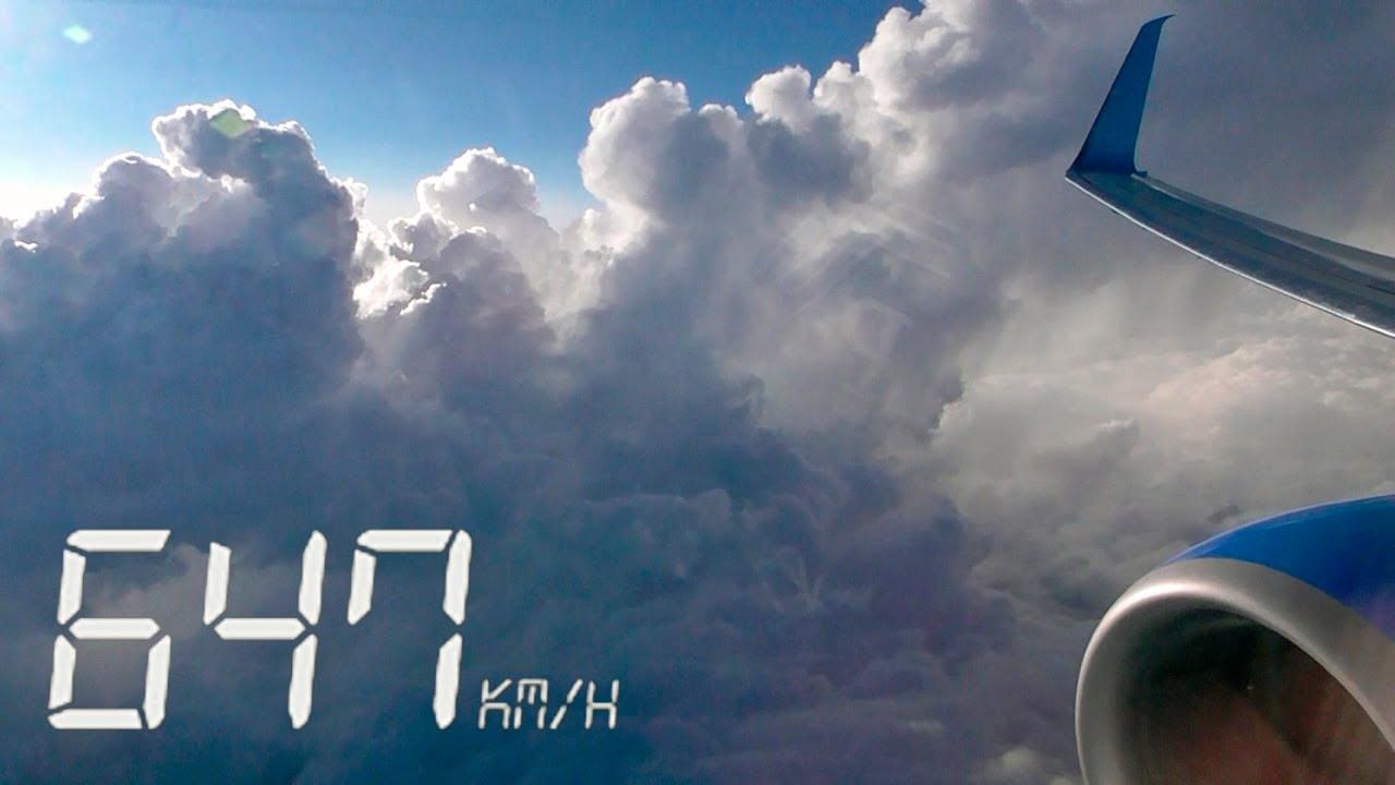 """Летим! Boeing 737 авиакомпании """"Победа"""" - Фантастическое снижение и посадка в Геленджике (Часть 2)"""