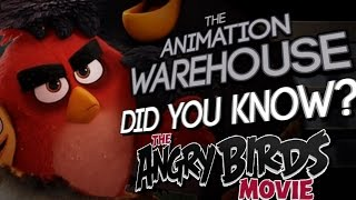 DID YOU KNOW: The Angry Birds Movie (Feat. GablesMcGee) The Animation Warehouse