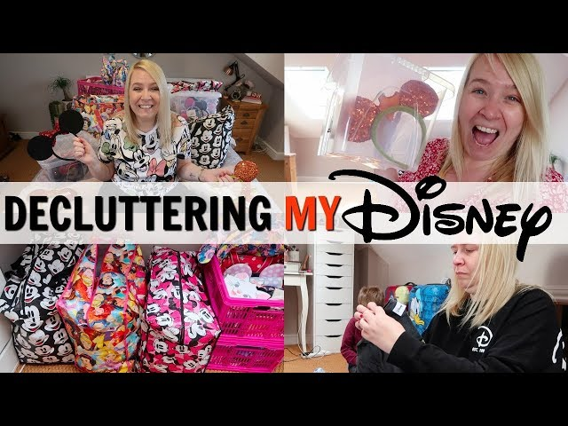 LOFT ORGANISATION: DECLUTTERING MY DISNEY COLLECTION!
