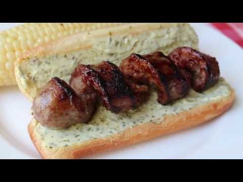 "Curly ""Q"" Sausage -- Grilled Spiral Cut Sausage"