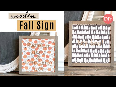 Foil Letter Wood Signs | Quick and Easy |  Ashleigh Lauren