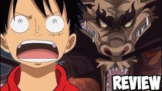 One Piece 921 Manga Chapter Review: Kaido the