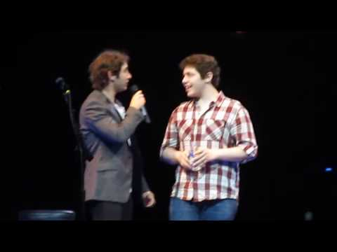 Josh Groban and Josh Joseph - You Raise Me Up - Chicago United Center