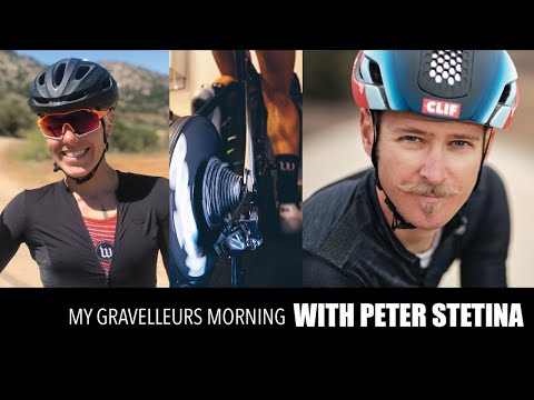 MY GRAVELLEURS MORNING WITH PETER STETINA