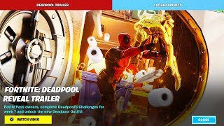 Deadpool Trailer | Fortnite