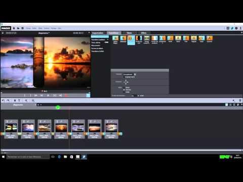 2. Créer son premier diaporama avec magix video deluxe