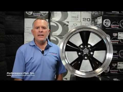 US Indy Mag Wheels U106 Black - Performance Plus Wheel & Tire Reviews