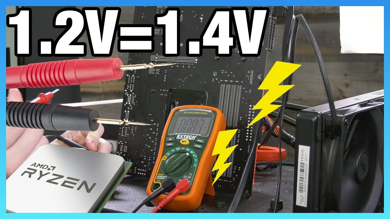 "How to Kill Your CPU with ""Safe"" Voltages 