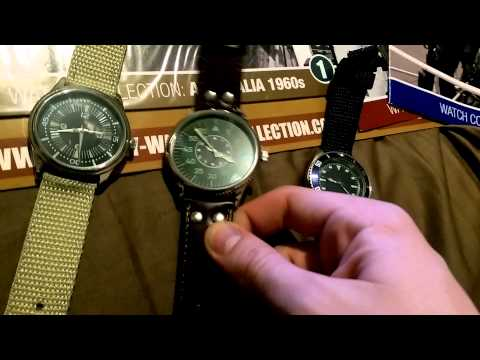 Review, Military Watches Collection Australia