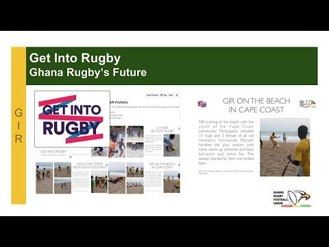"Ghana Rugby ""Get Into Rugby"" School Holiday Session"