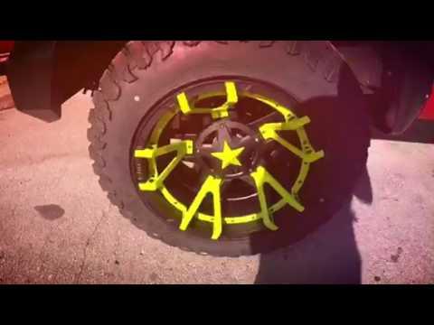 XD Rockstar wheels Ford F 250 diesel power stroke
