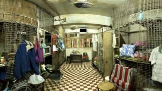 Hong Kong: Life in a Cage Home (360° Virtual Reality Guided Tour)