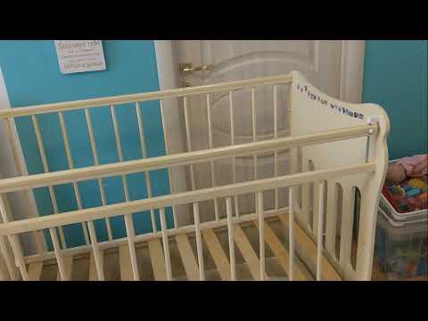 Сборка кроватки Таисия с тремя положениями