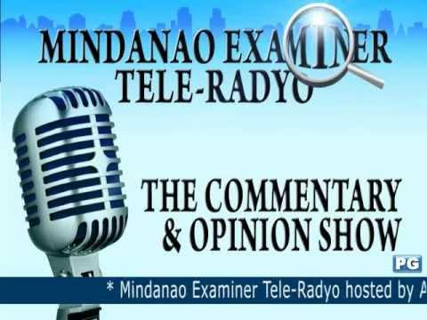 Mindanao Examiner Tele-Radyo Dec. 19, 2012