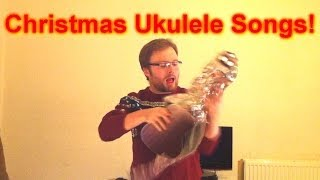 How To Play Three Easy Christmas Songs on The Ukulele!