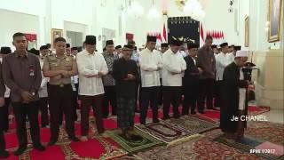 merakyat presiden jokowi bersedia untuk jalan kaki bersama qori qoriah dan anak yatim ke masjid y