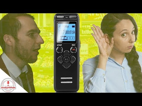 Digital Voice Recorder And MP3 Player Review - Bojecher 8gb