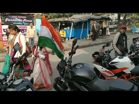 26th republic day || ORANGE RIDE || BELL MX-9 HELMET ON RIDE REVIEW || (PART -1)
