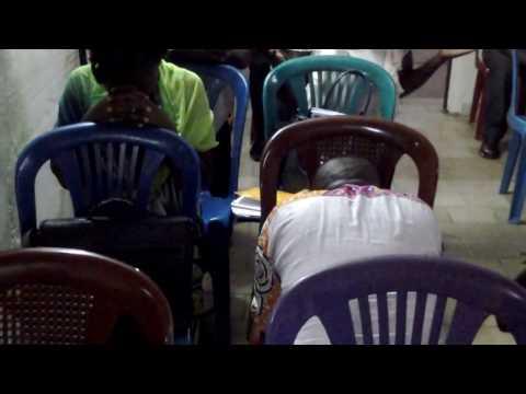 EIF / FITS Gabon. Time of Prayer -
