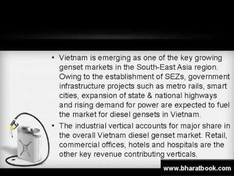 vietnam diesel genset